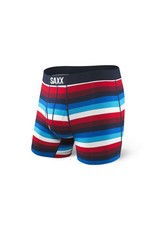 Saxx Saxx - ULTRA BOXER FLY - Navy/Red Cabana Stripe -