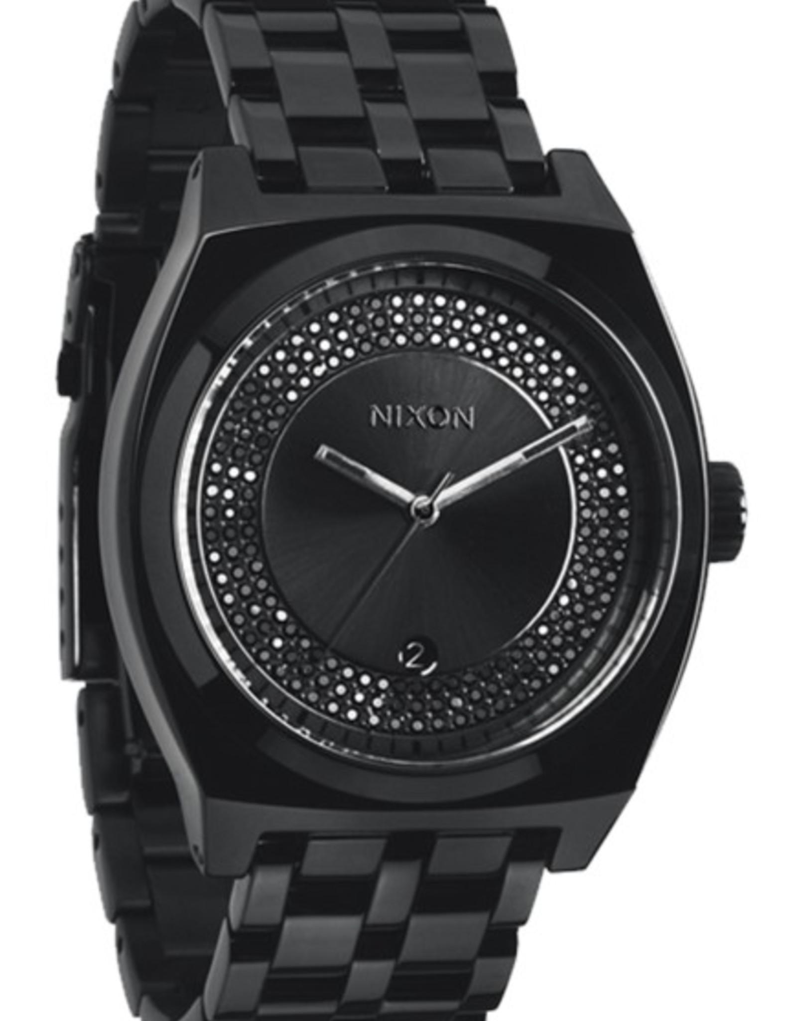 Nixon Nixon - MONOPOLY - All Black / Black Crystal