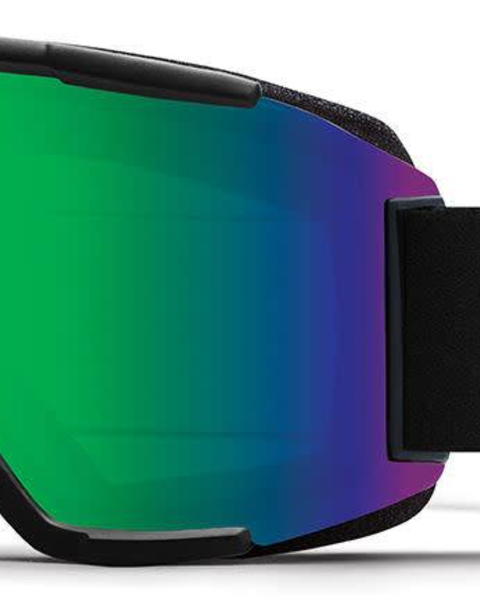 Smith Optics Smith - SQUAD - Black w/ CP Sun Green Mirror + Bonus Lens