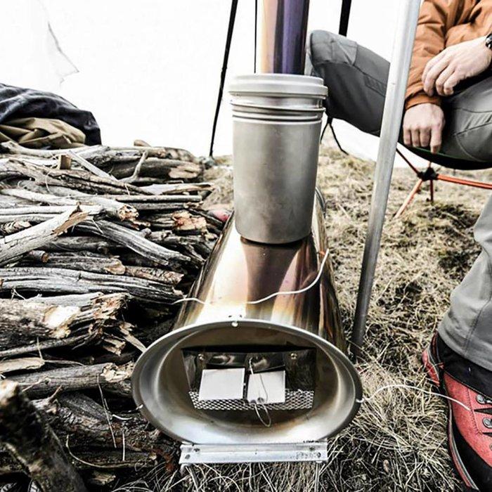 "Used - Kifaru Smith Cylinder Stove 18"" - USEDKSPO"