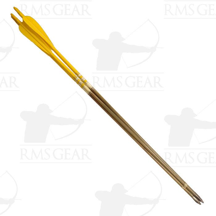 """Used - 30"""", 51# Fletched Wood Arrows - USED3LA"""