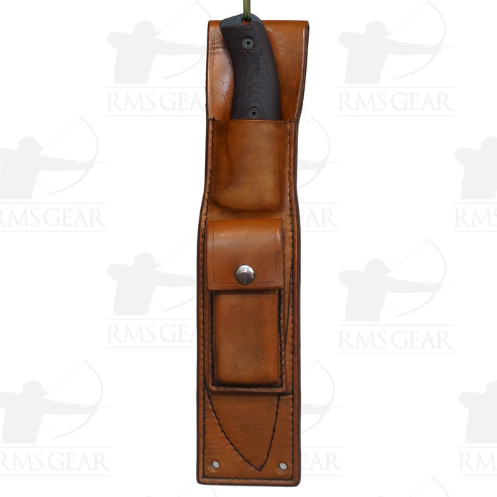 Custom Leather Sheath for Esee 6