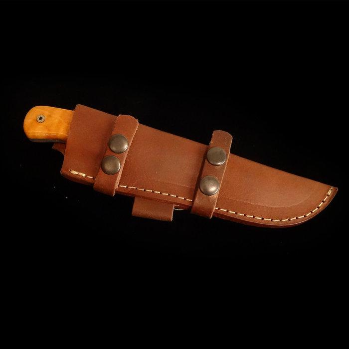 Custom Damascus Knife - WT167DG