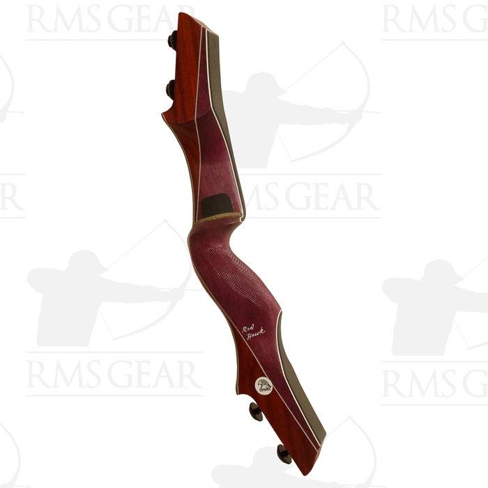 "Hawk Riser - 19"" RH Purple Heart & Paduak - 0429"