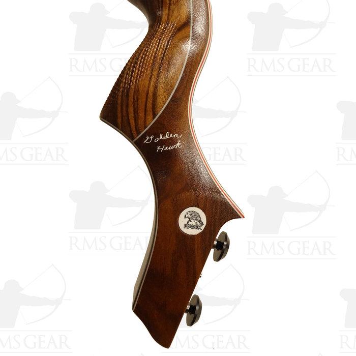 "Riser - 17"" LH OD Mora/Morado Wood - 0430"