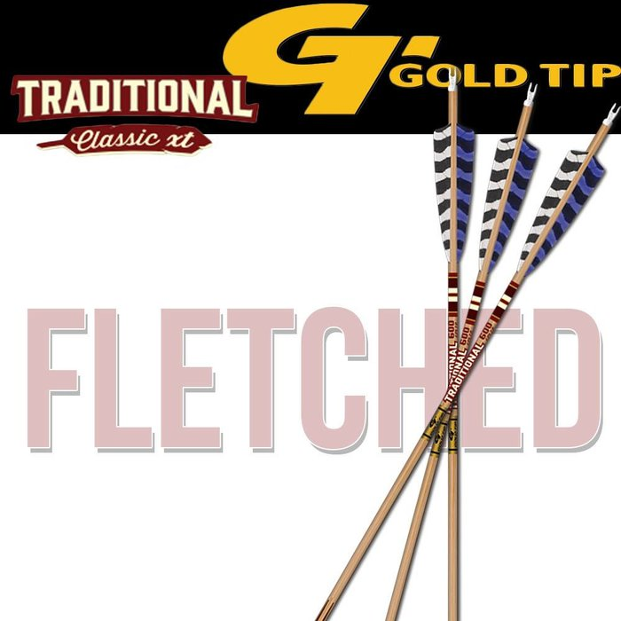 Traditional Classic XT Fletched Arrows