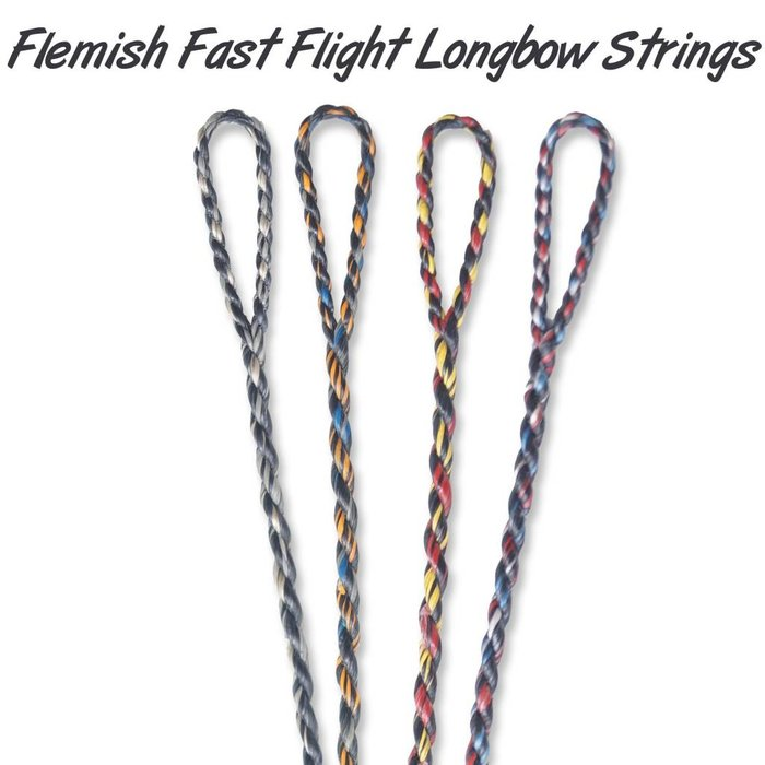 Flemish Twist FF String Longbow