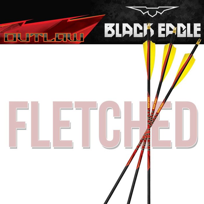 Outlaw Fletched Arrows