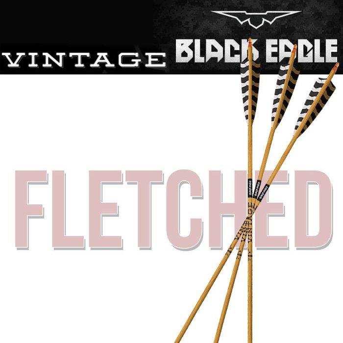 Vintage Fletched Arrows