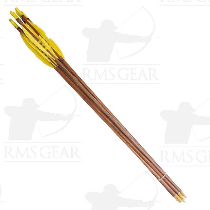 Used - 72# Fletched Wood Arrows - USED19PI