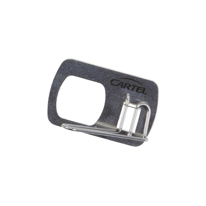 Cartel Metal Recurve Rest Stick On Silver RH