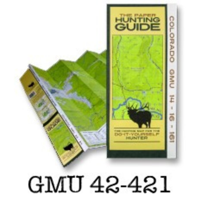 DIY Hunting Maps DIY Hunting Map - Colorado GMU 42-421 - RMSGear