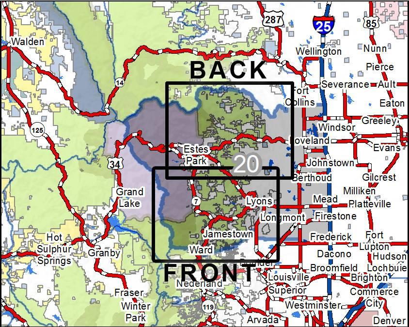 Colorado Gmu Map DIY Hunting Maps   Colorado GMU 20   RMSGear Colorado Gmu Map