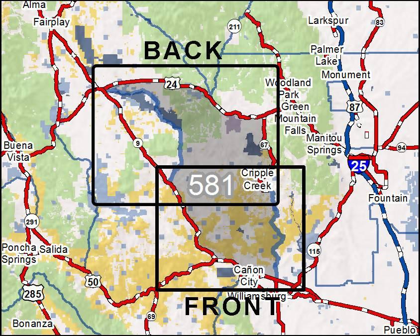 DIY Hunting Maps - Colorado GMU 581 - RMSGear