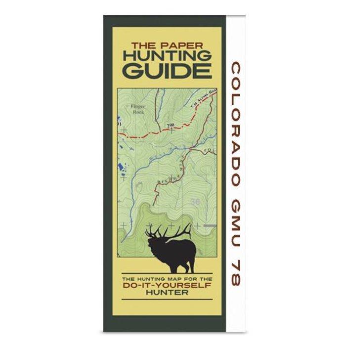 DIY Hunting Map - Colorado GMU 78