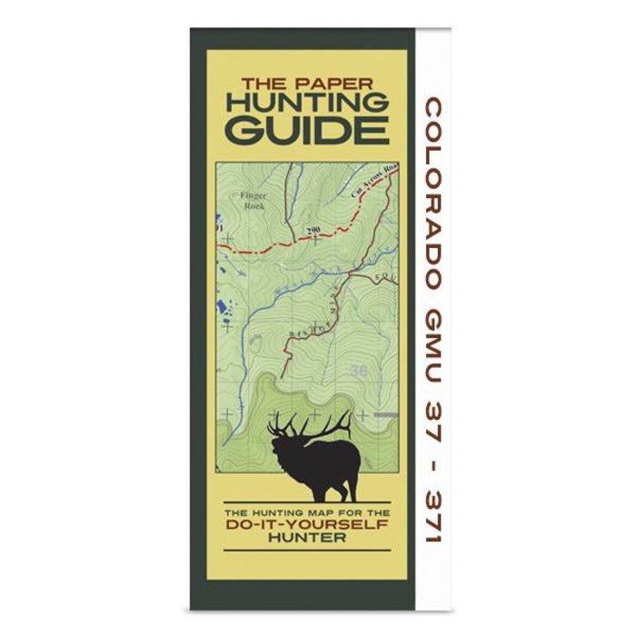 DIY Hunting Map - Colorado GMU's 37-371
