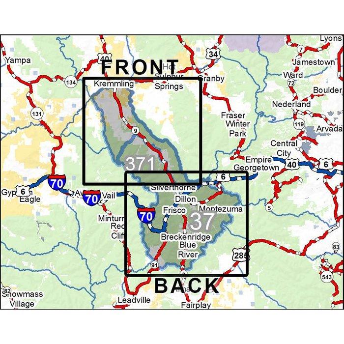 Diy Hunting Maps Colorado Gmu S 37 371 Rmsgear