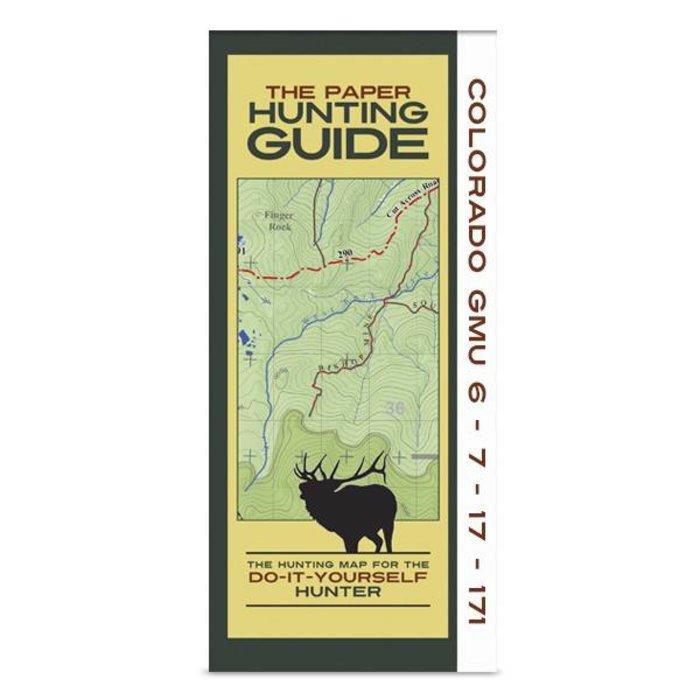 DIY Hunting Map - Colorado GMU's 6-7-17-171