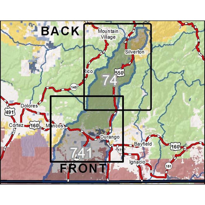 Diy Hunting Maps Colorado Gmu S 74 741 Rmsgear