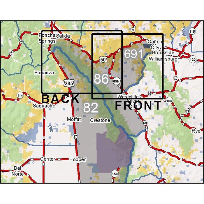 - Colorado GMU's 82N, 86N, 691