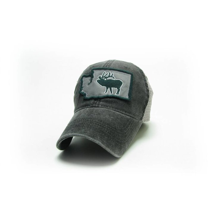 RutTuff Hat WA Black