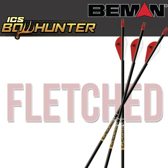 ICS Bowhunter Fletched Arrows