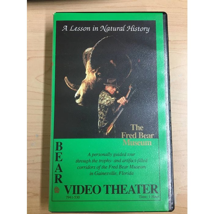Bear Video Theater: A Lesson in Natural History VHS