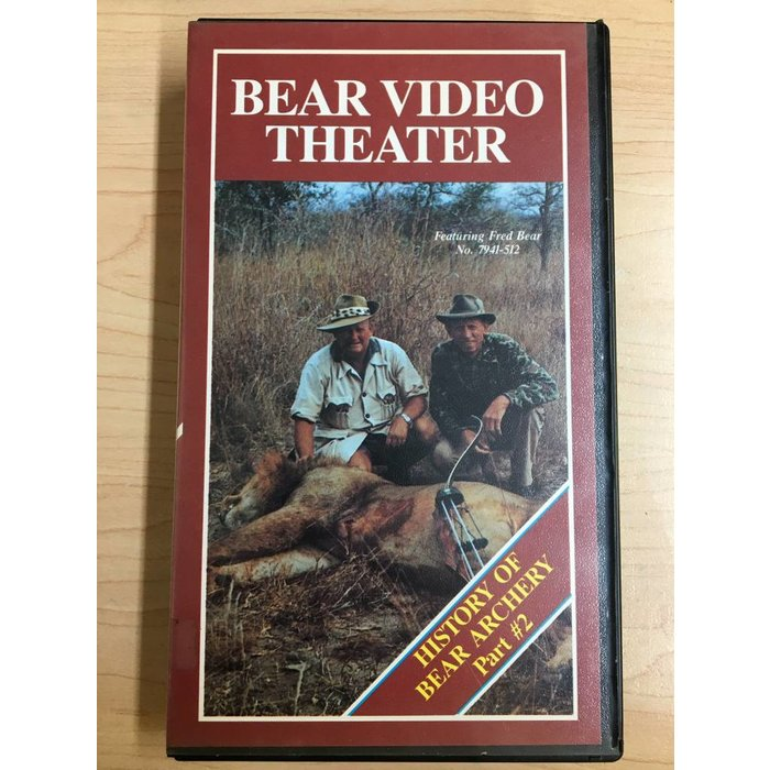 Bear Video Theater: History of Bear Archery #2 VHS