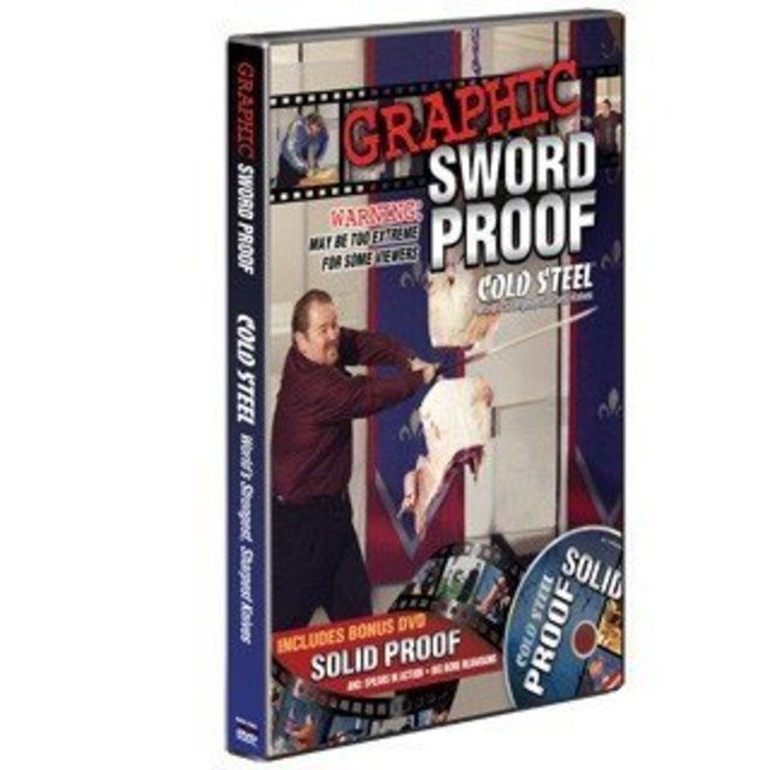 Cold Steel Graphic Sword Proof DVD