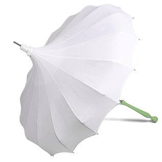 Bella Umbrella Signature Bella Umbrella Pagoda White