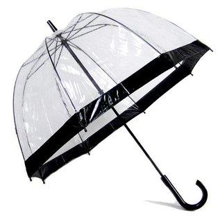 Vista Bubble Umbrellas Black