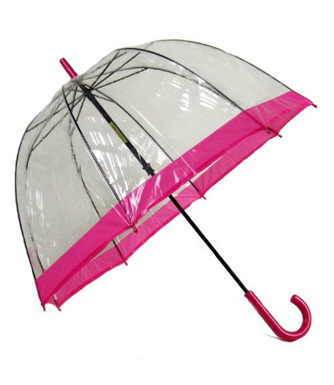 Vista Bubble Umbrellas Pink