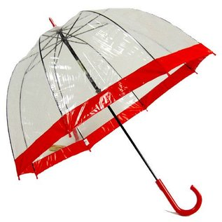 Vista Bubble Umbrellas Red