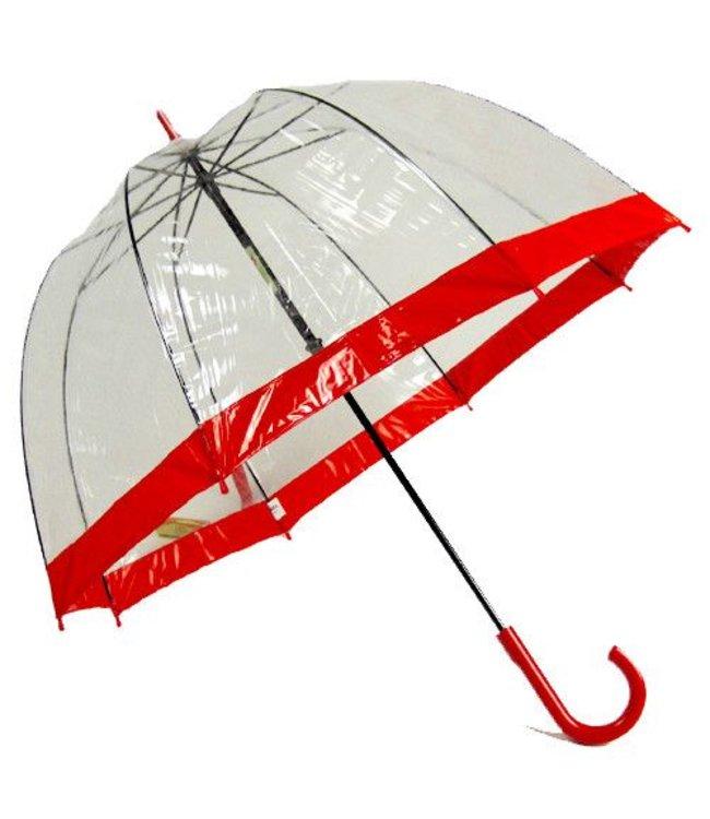 Vista Bubble Umbrellas Red