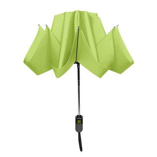 UnbelievaBrella Printed Compact Reverse Umbrella - Green