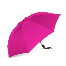 UnbelievaBrella Printed Compact Reverse Umbrella - Pink