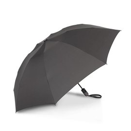UnbelievaBrella Printed Compact Reverse Umbrella - Charcoal