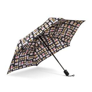 WindPro® Flatwear™ Vented Wind Umbrella - Brewed