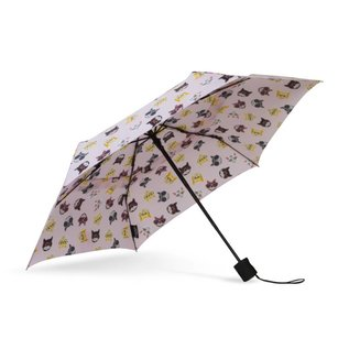 WindPro® Flatwear™ Vented Wind Umbrella - Hip Cat Pink