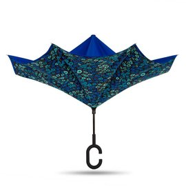 Reverse Umbrella - Blue/Monet