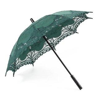 Goldenstate Lace Parasol Dark Green