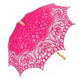 Goldenstate Lace Parasol Fuchsia
