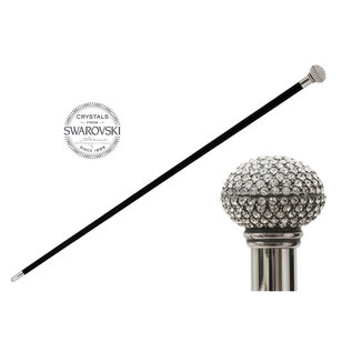Pasotti Swarovski® Crystals Italian Cane