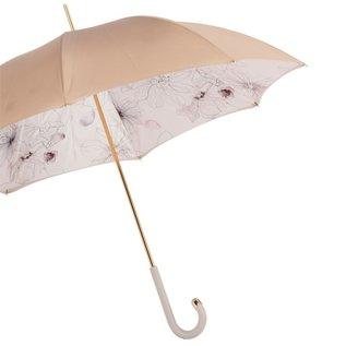 Pasotti Pasotti Italian Umbrella Ivory Sketch Floral