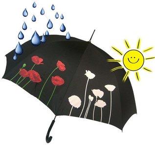 Naysmith Color Changing Poppy Flower Umbrella