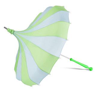 Bella Umbrella Signature Bella Custom Pinwheel Blue & Green