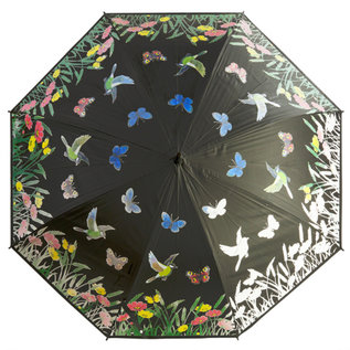 Naysmith Color Changing Birds and Butterflys Umbrella