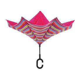 Reverse Umbrella Prom Pink