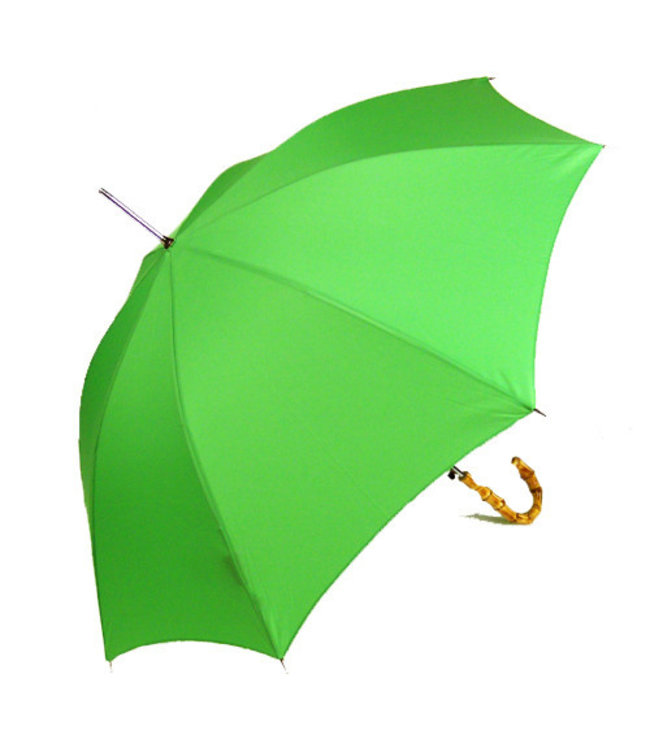Vista Classic Umbrellas - Bamboo Handle Apple Green