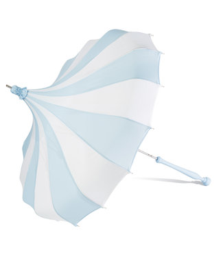 Bella Umbrella Signature Bella Custom Pinwheel Blue & White
